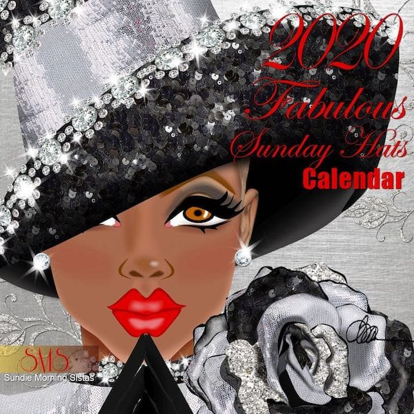 Fabulous Sunday Hats Wall Calendar