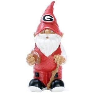 Georgia Bulldogs Football Garden Gnome