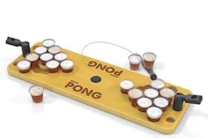 Mini Pong Shot Glass Game