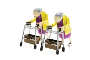 Racing Grannies Holiday Gag Gift