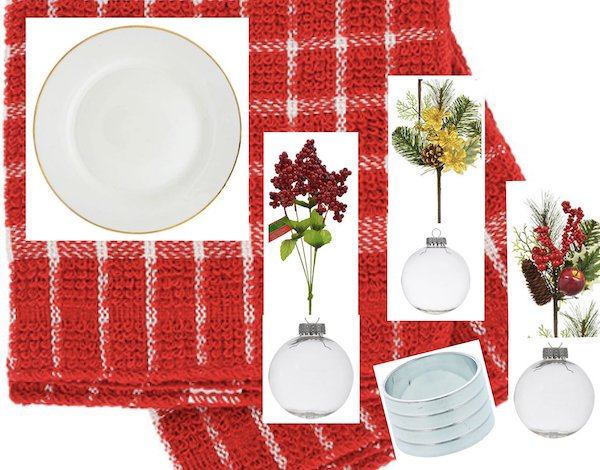 Set a Holiday Table on a Budget