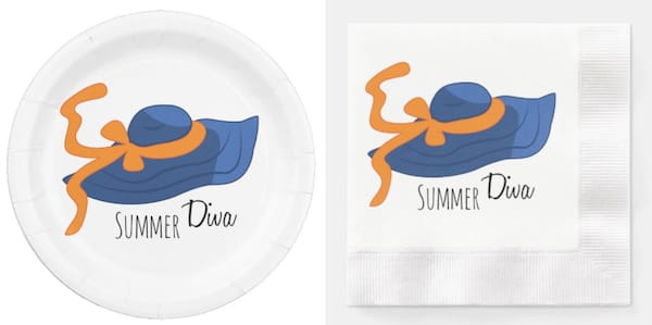Summer Divas Paper Goods