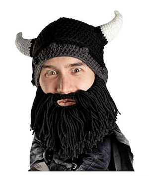 Beard Head Knit Bear Hat