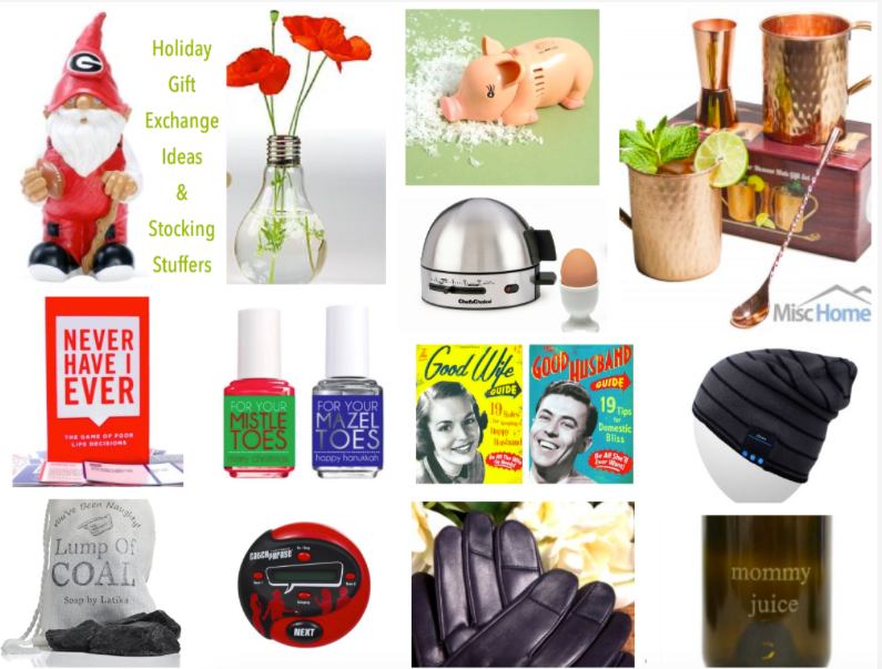 The BEST Holiday Gift Exchange Ideas & Stocking Stuffer Guide!