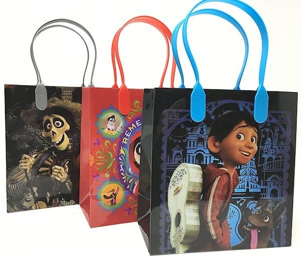 Coco party favor bags