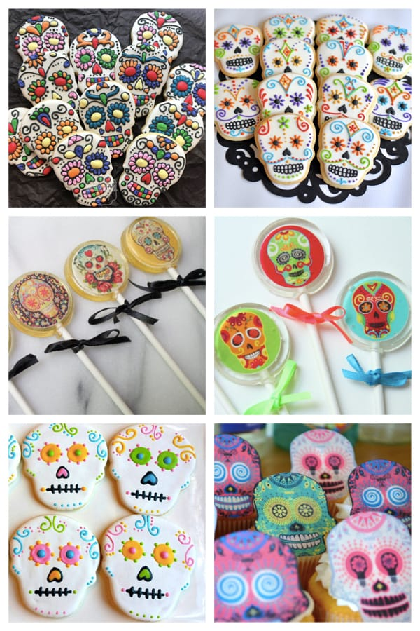 coco pixar day of the dead cookies lollipops
