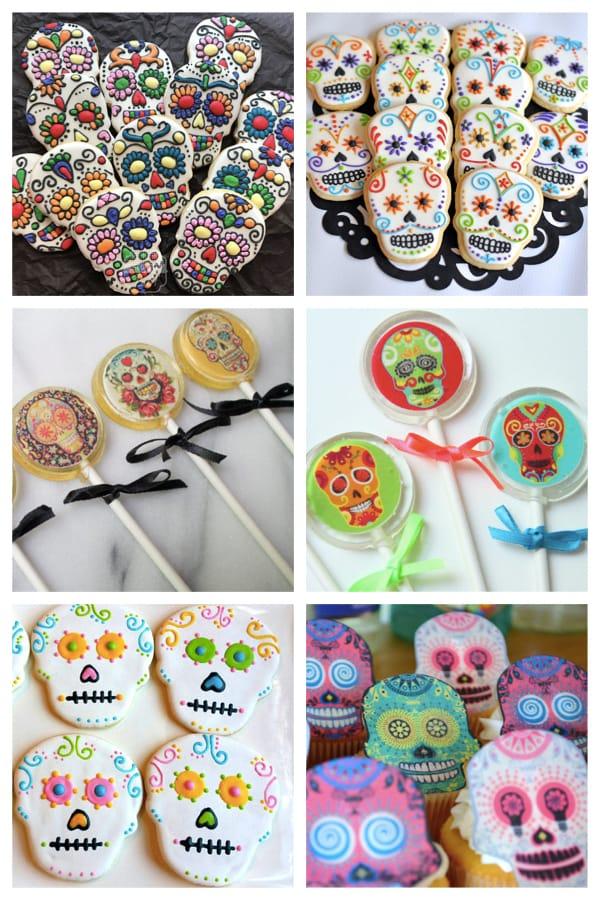 coco pixar day of the dead cookies lollipops