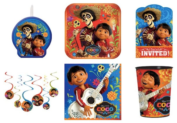 Coco Birthday Party Tableware Supplies