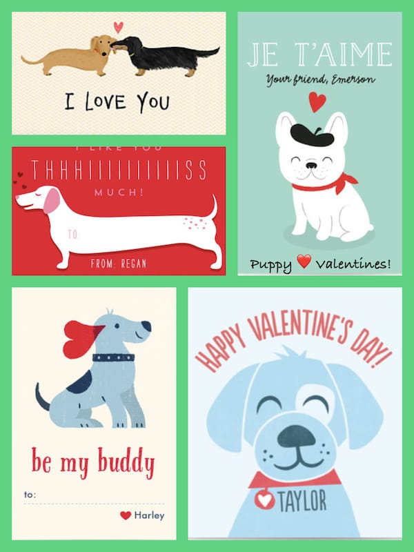 Puppy Love Valentines