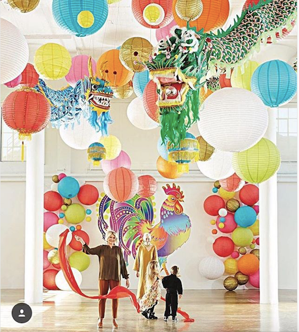Paper Lanterns for Chinese New Year Celebration