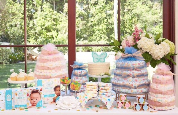 Honest Diaper Cakes Must Have Baby Shower Centerpieces