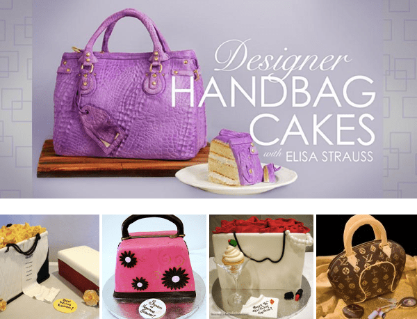 Designer Handbag Cakes with Elisa Strauss