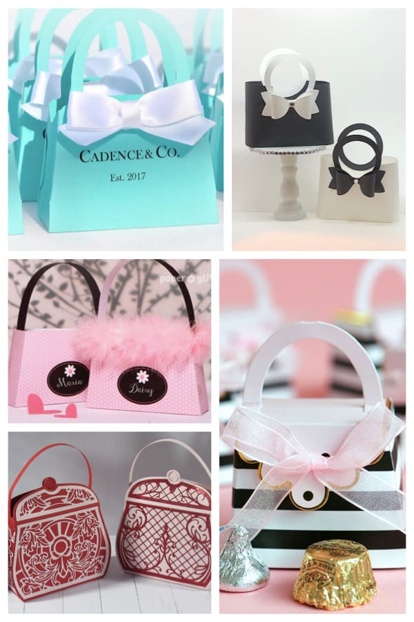 Purse Favor Boxes