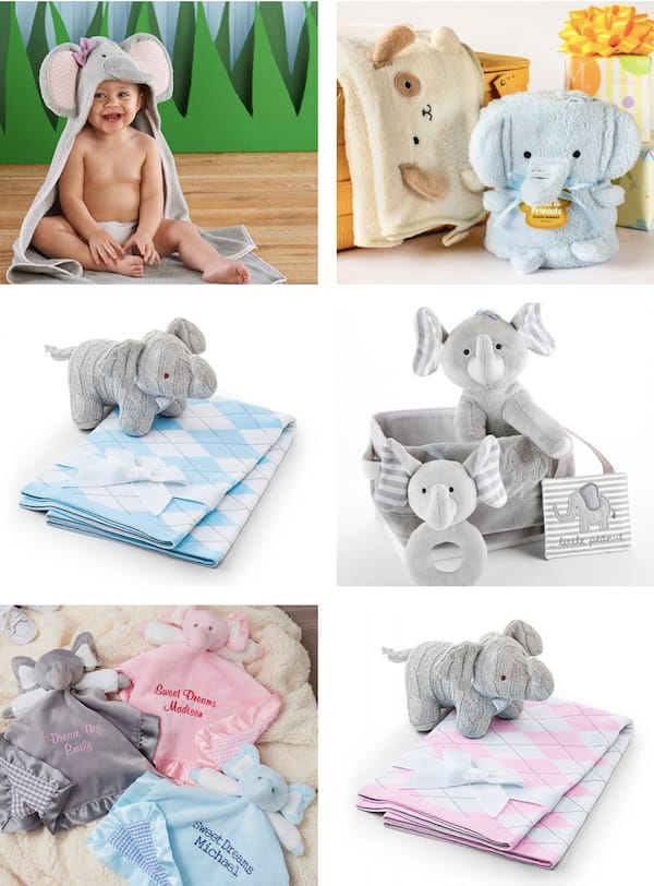 Elephant Themed Baby Shower Gifts