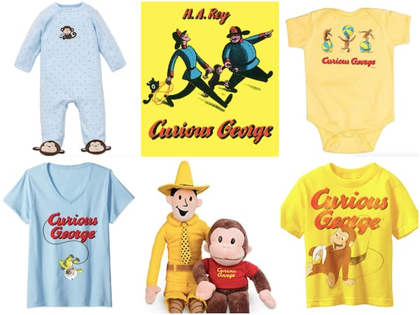 Children's Book Baby Gifts - Curious George