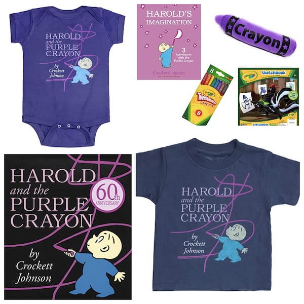 Children's Classic Book Baby Gifts - Harold and the Purple Crayon