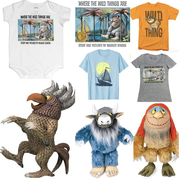 Childrens Classic Book Baby Gifts - Where the Wild Things Are