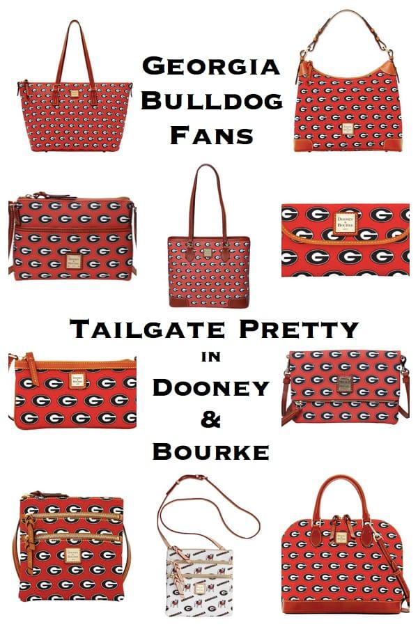 Georgia Bulldog Fans Tailgate Pretty with Dooney & Bourke Team Spirit Bags
