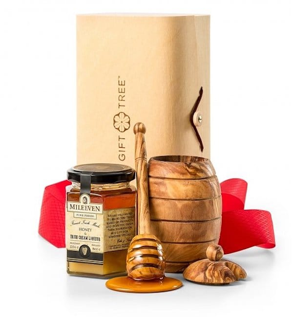 Honey Pot and Irish Honey Gift