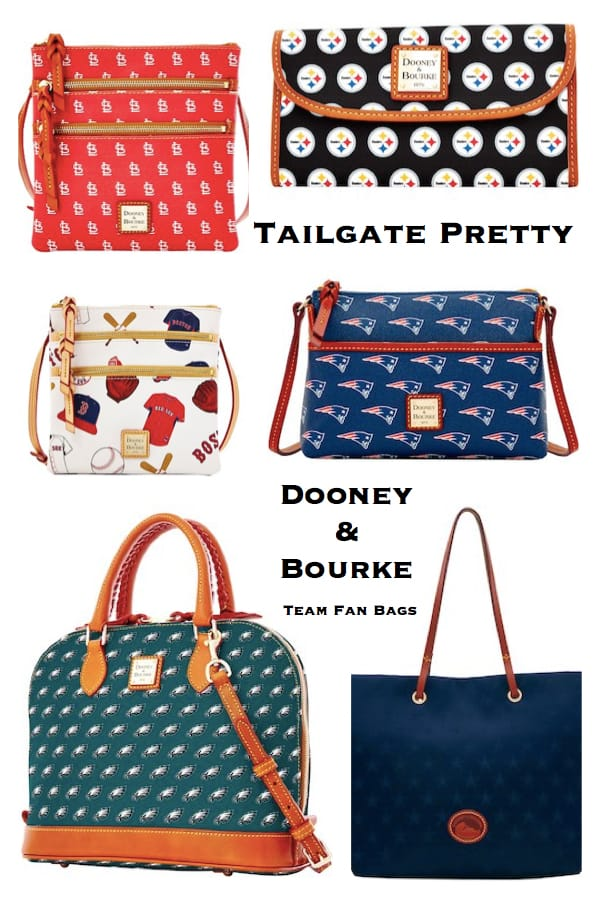 Tailgate Pretty Dooney and Bourke Team Fan Bags