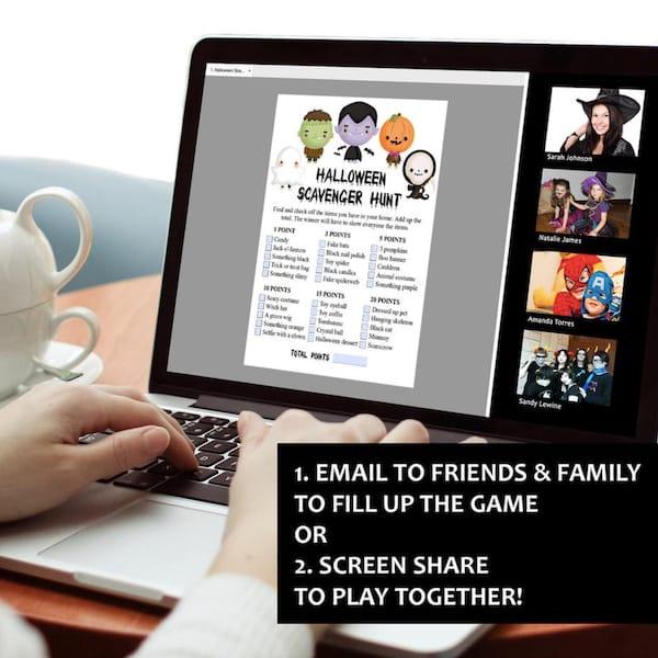 8 Virtual Halloween Games Bundle