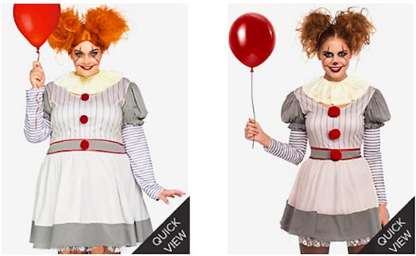 Creepy Clown Dreses