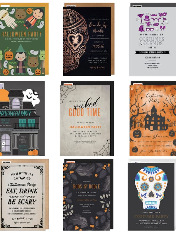 Email Halloween Party Invitations - Save Time. Save Trees. Save Money.