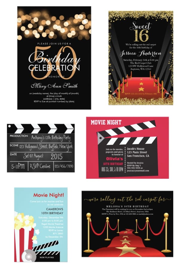 Hollywood Nights Movie Theme Party Partyideapros Com