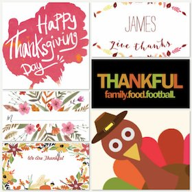 Thanksgiving Place Cards SB