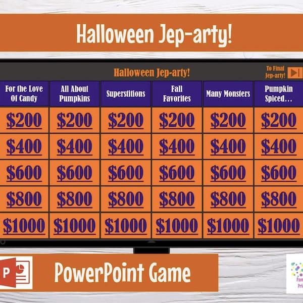 Virtual Game Halloween Jep-arty