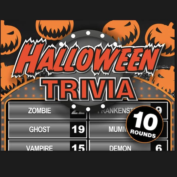 Virtual Halloween Trivia