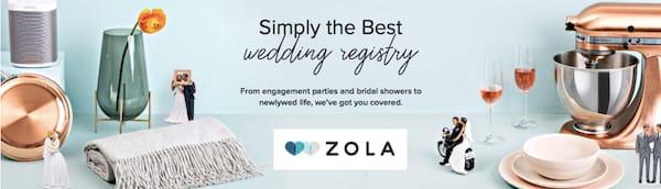 Zola Best New Wedding Registry