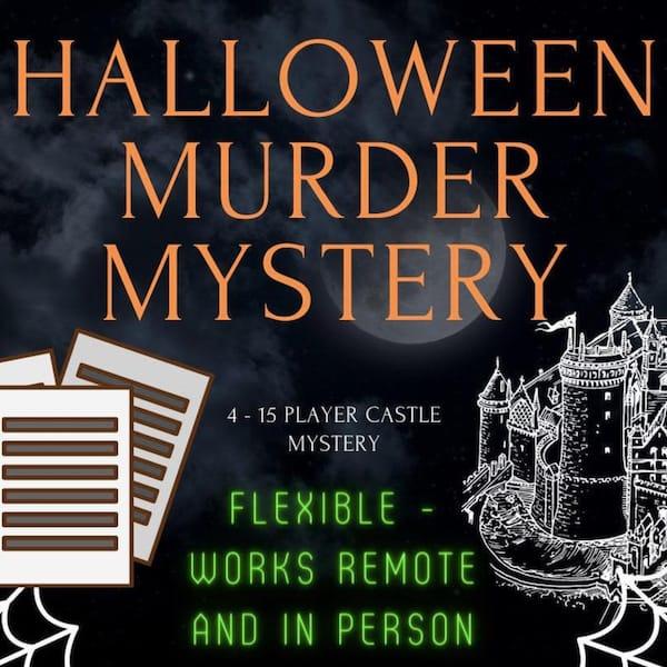 Zoom Friendly Halloween Murder Mystery