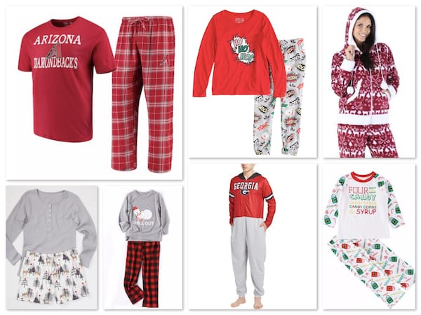Christmas Pajamas for Teens and Families