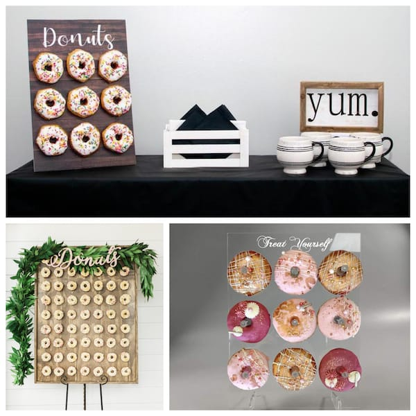 Custom Donut Walls