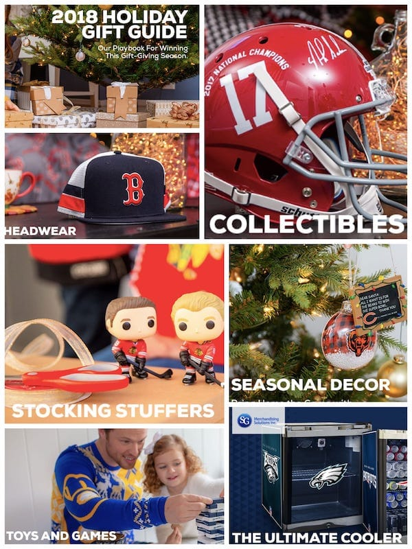 Fanatics Holiday Gift Guide