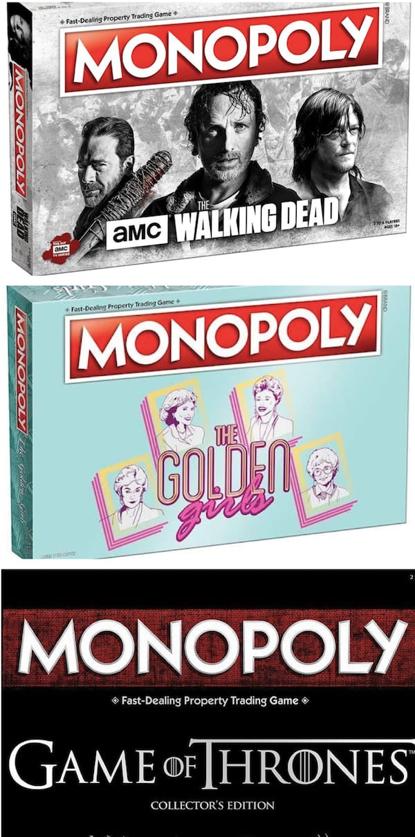 Monopoly - Favorite TV Shows