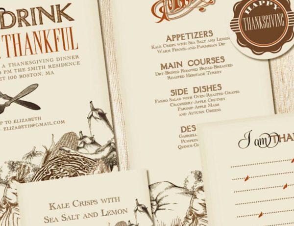 Thanksgiving Dinner Party Essentials