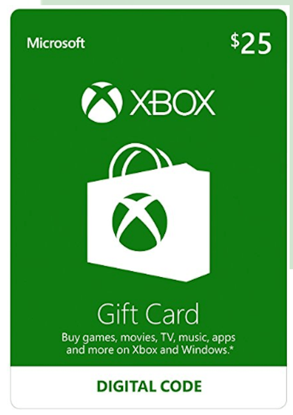 Video Gaming Gift Cards