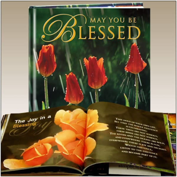 May you be blessed gift book
