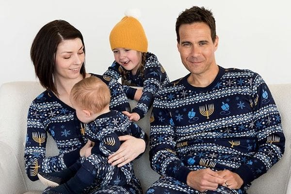 Family Matching Hanukkah Pajamas