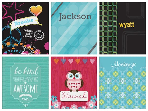 Kids Personalized Journals