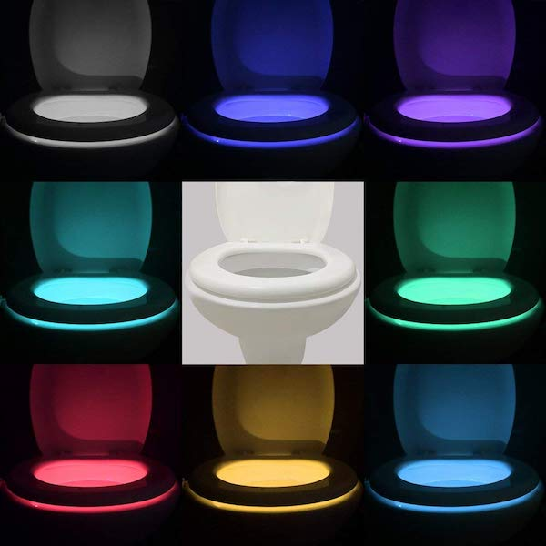 Motion Sensor LED Toilet Night