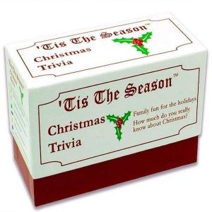 Tis The Season Christmas Trivia Game