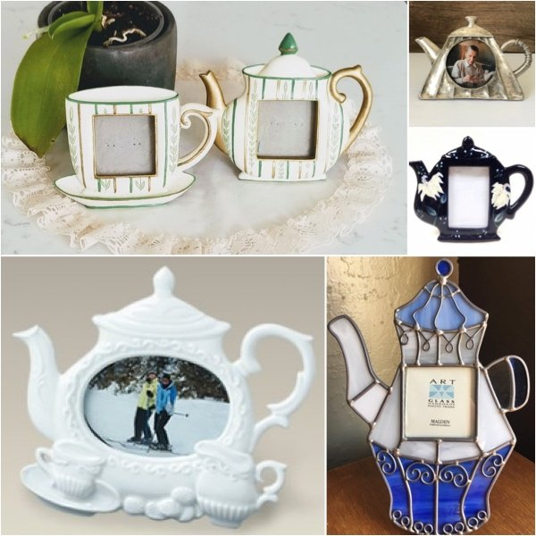 Teapot Picture Frames