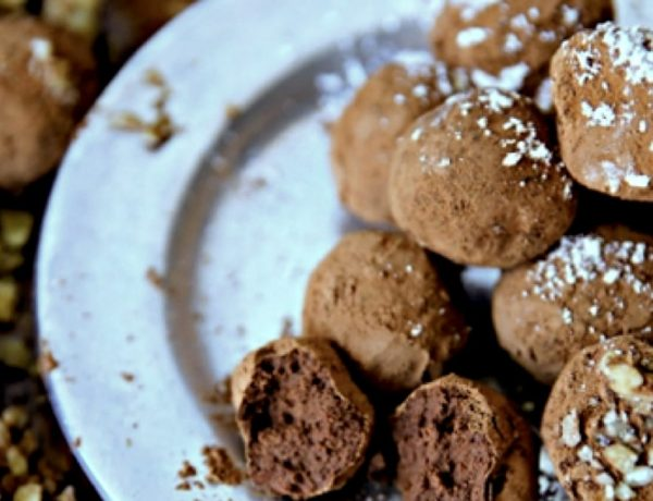 Dark Chocolate Wine Truffles Recipe