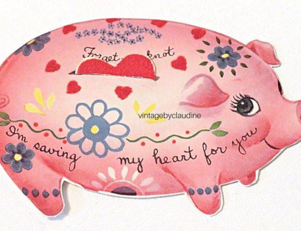Pig Love + Valentines Day