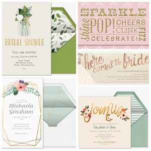 Bridal Shower Online Invitations