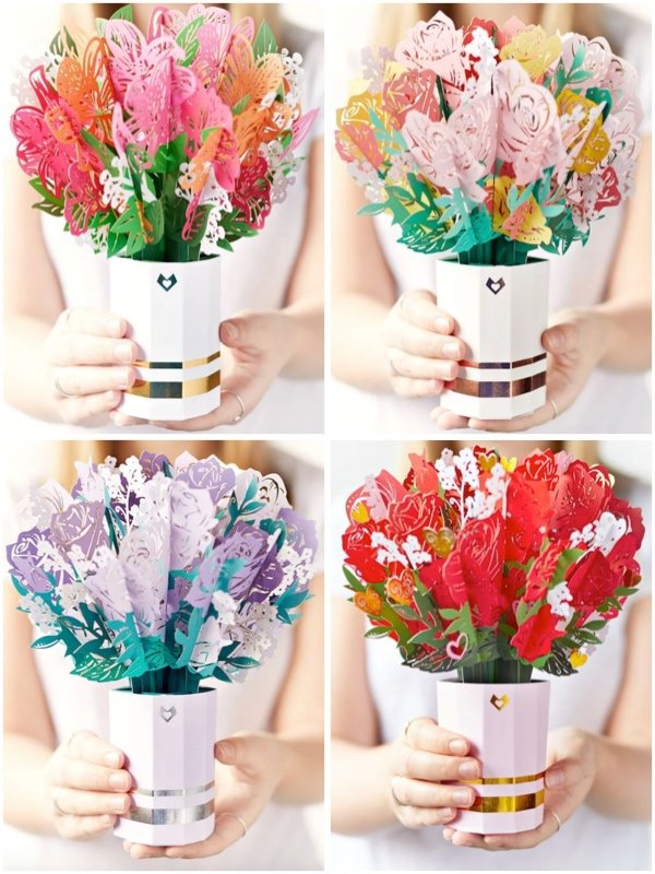 LovePop Flower Bouquets