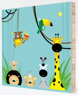 Welcome to the Jungle Bamboo Wall Art